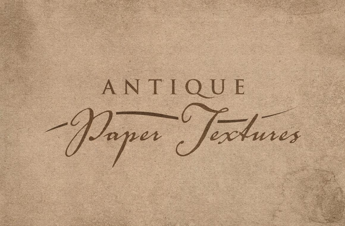 Antique Paper Overlay Textures