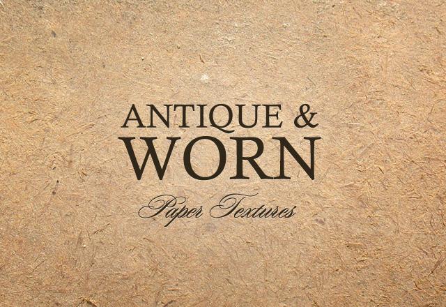 Antique & Worn Paper Textures