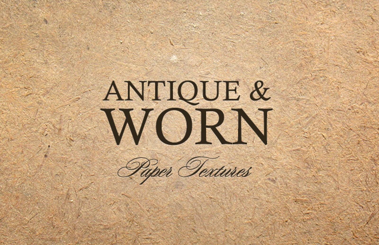 Antique  Worn  Paper  Textures  Preview1