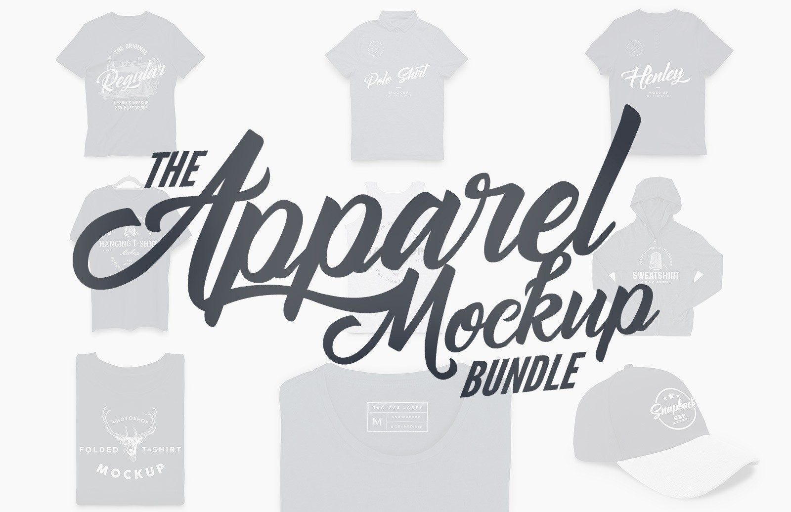 Apparel Mockup Bundle Preview 1A