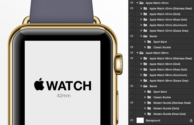 Large Apple  Watch  Mockup 2  Preview 4