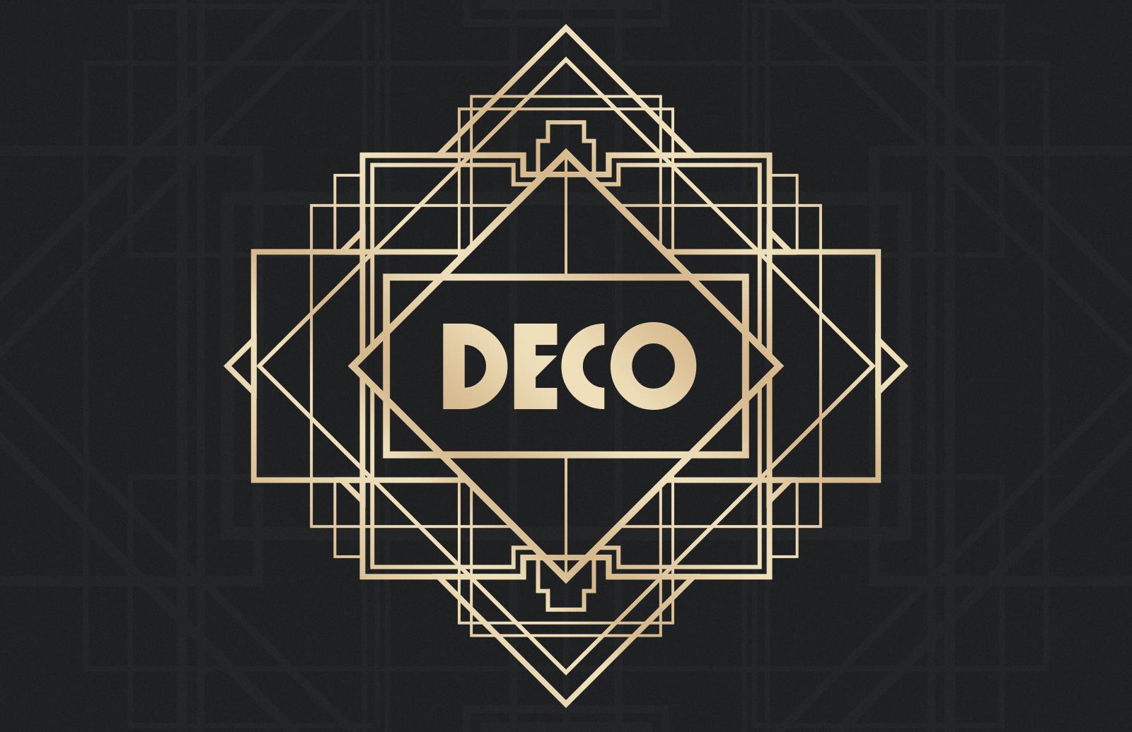 Art  Deco  Badges  Preview 1B