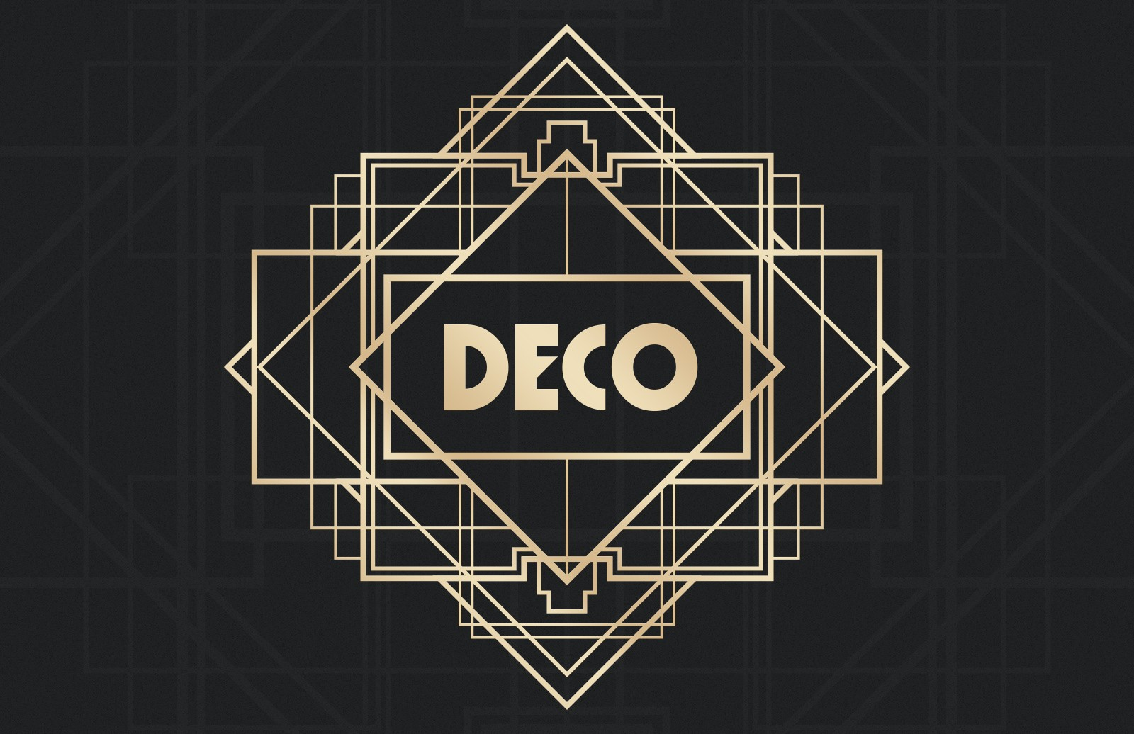 Art Deco Badges