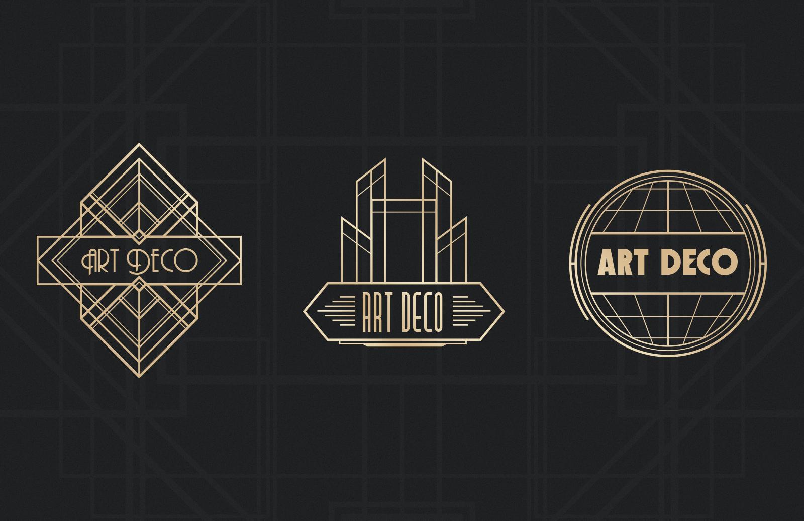 Art deco badges medialoot - What is art deco ...