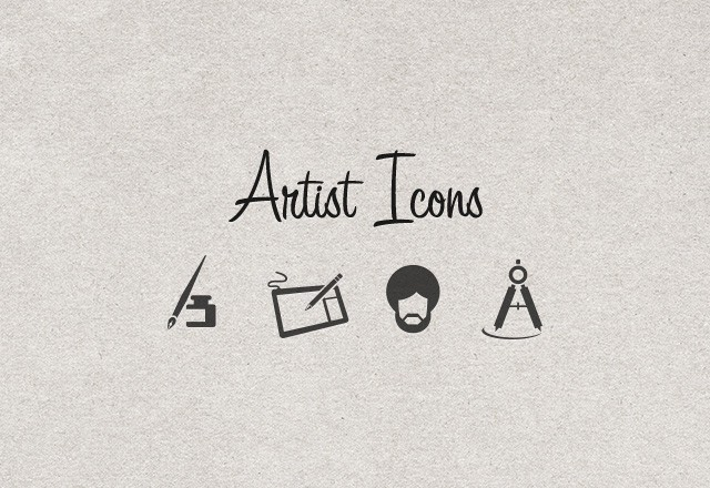 Large Artist  Vector  Icons  Preview1