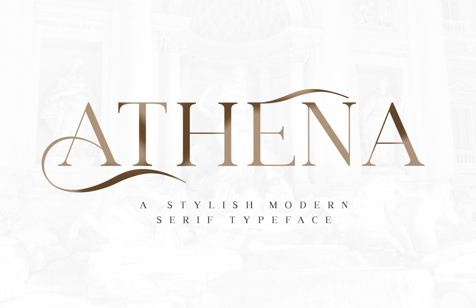 Athena Stylish Serif Preview 2 1