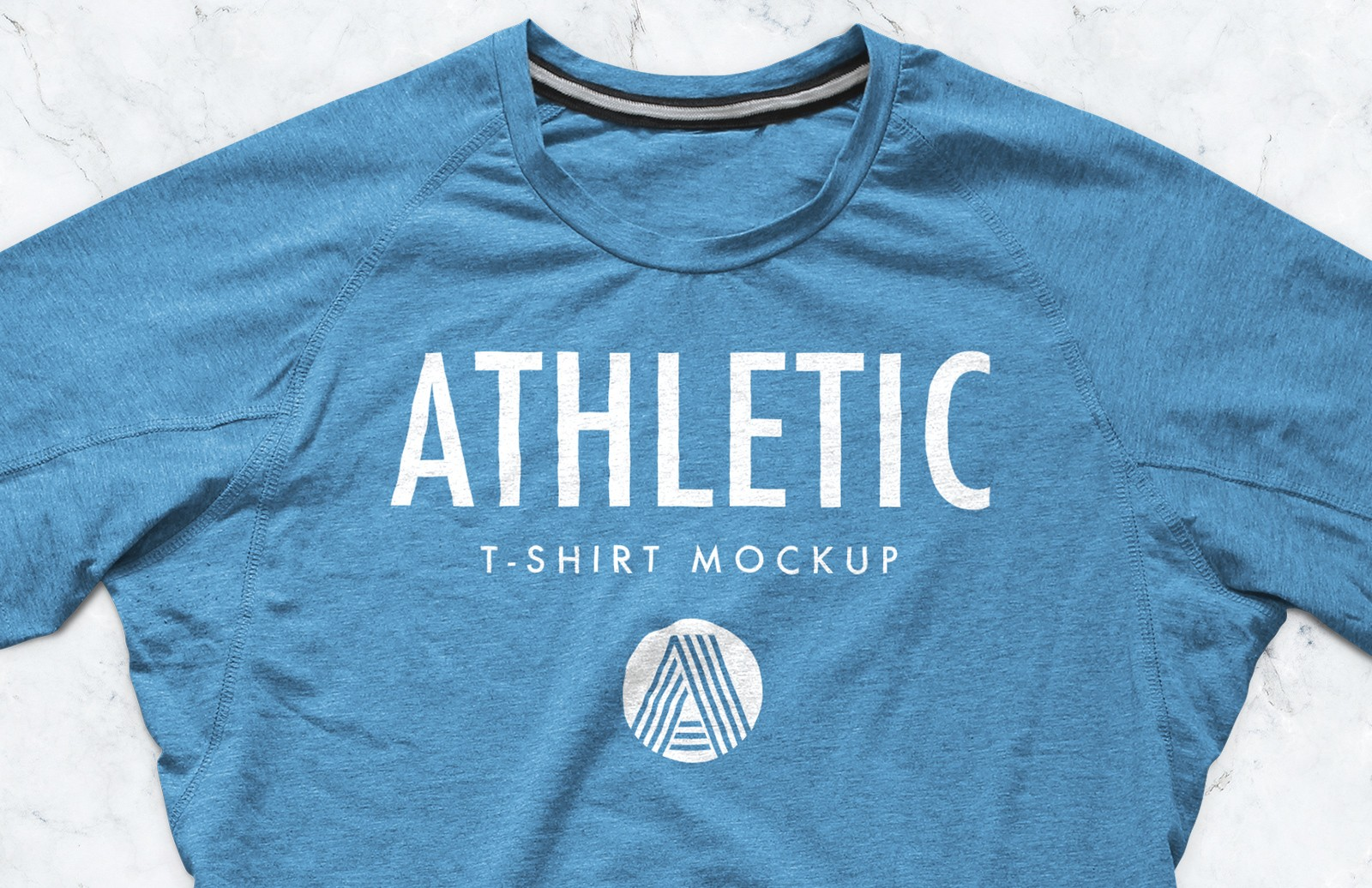Athletic T-Shirt Mockup PSD