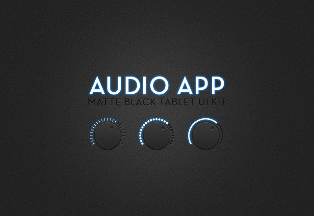 Audio App UI Kit