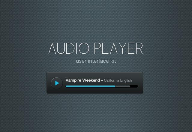 Audio Player UI Kit