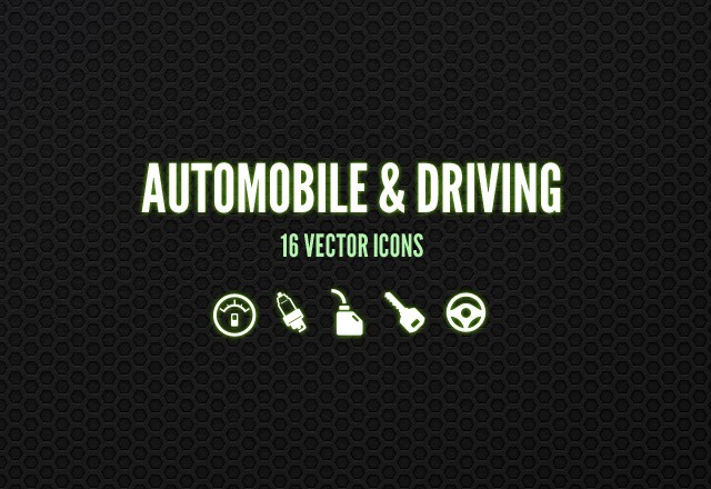 Automobile & Driving Icons