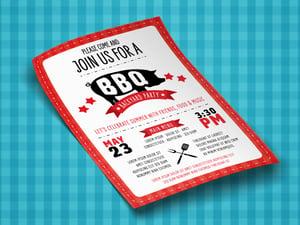 BBQ Flyer Template 1