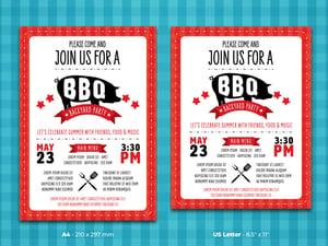 BBQ Flyer Template 2
