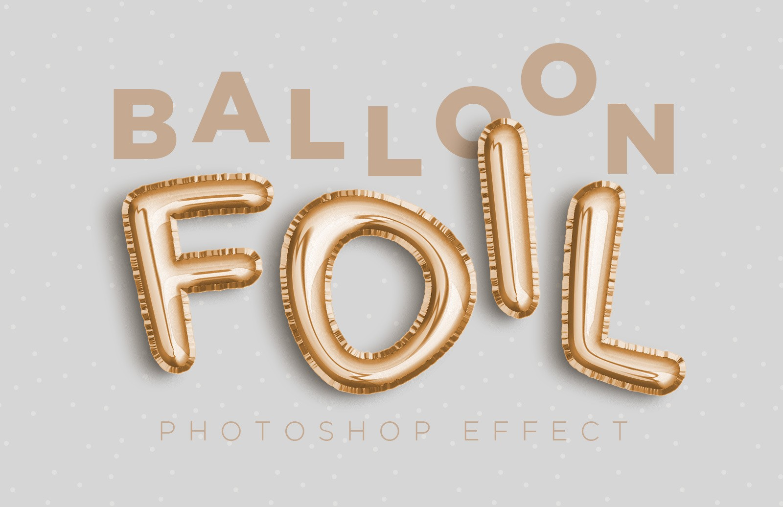Balloon Foil Effect Preview 1