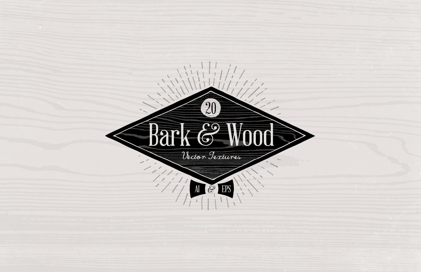 Bark Wood Vector Textures Preview 1