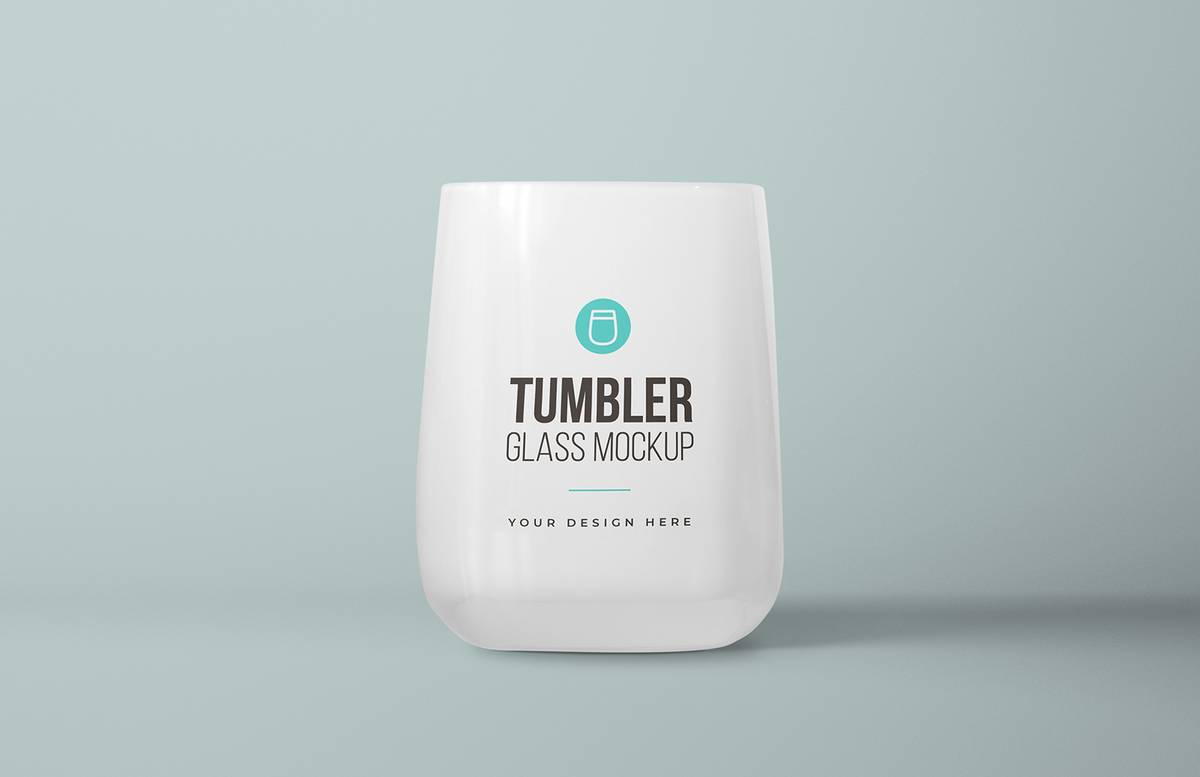 Bathroom Tumbler Glass Mockup Preview 1