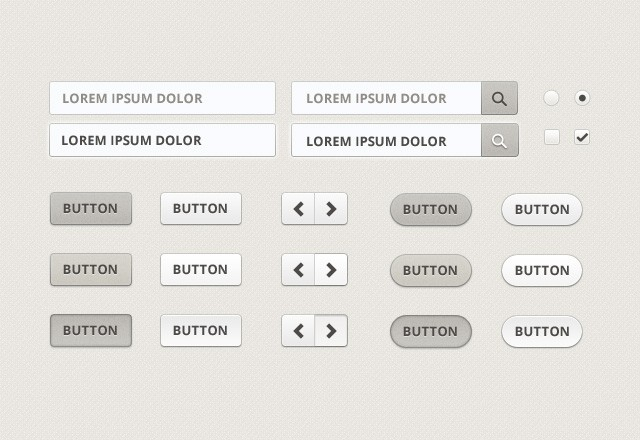 Large Beige  Web  Elements  Preview2
