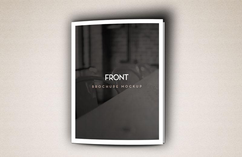Bi Fold Brochure Mockup Template
