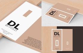 Bi-Fold DL Brochure Mockup