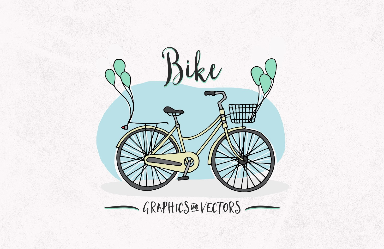 Bike Graphics Vectors Preview 1