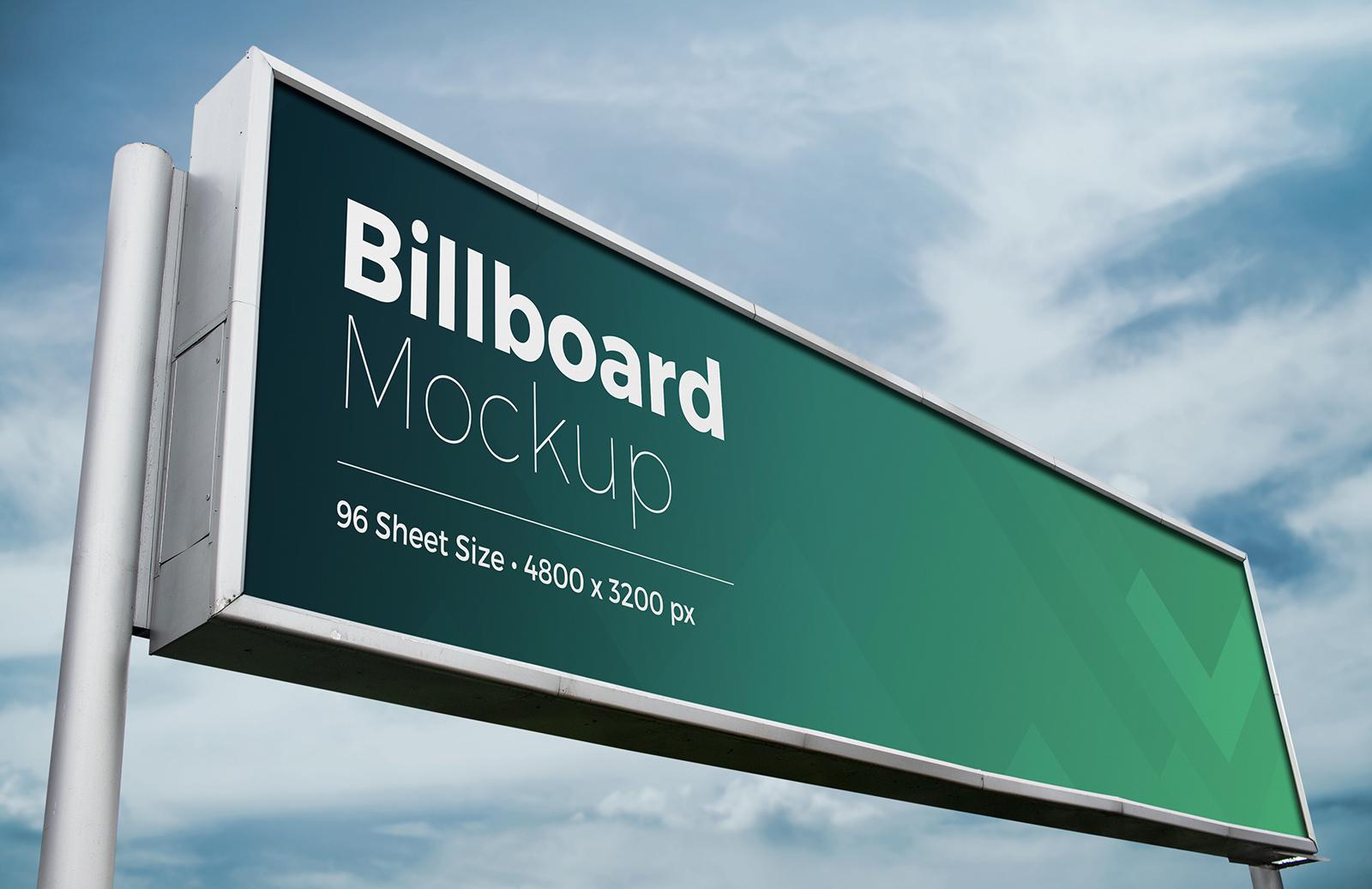 Billboard Mockup for Photoshop