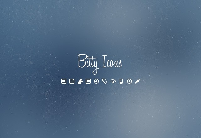 50 Bitty Vector Icons