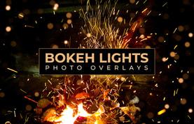 Bokeh Lights Photo Overlays