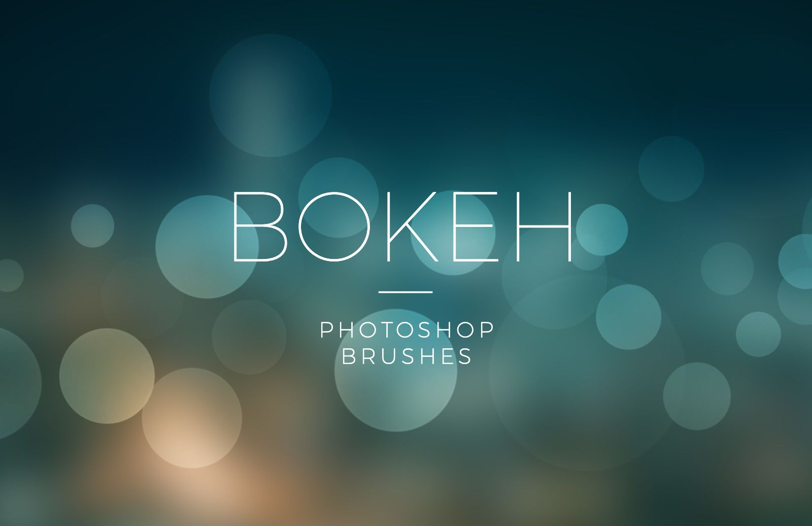 Bokeh Photoshop Brushes Preview 1