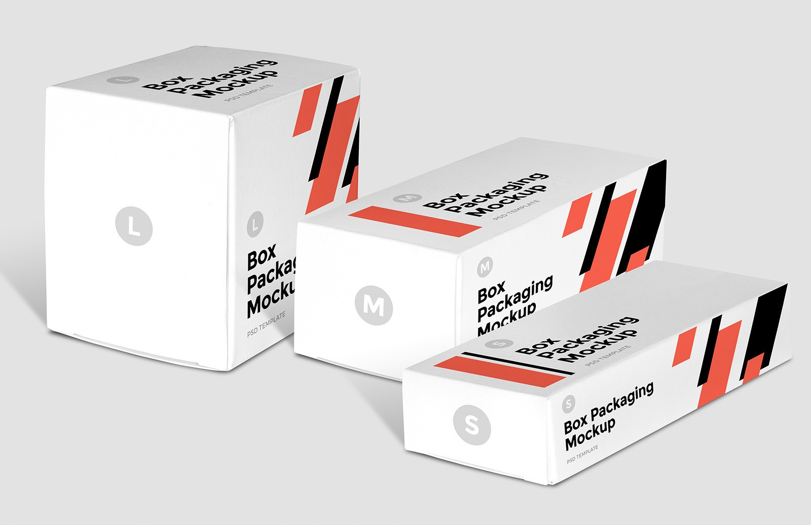Box Packaging Mockup Preview 1A
