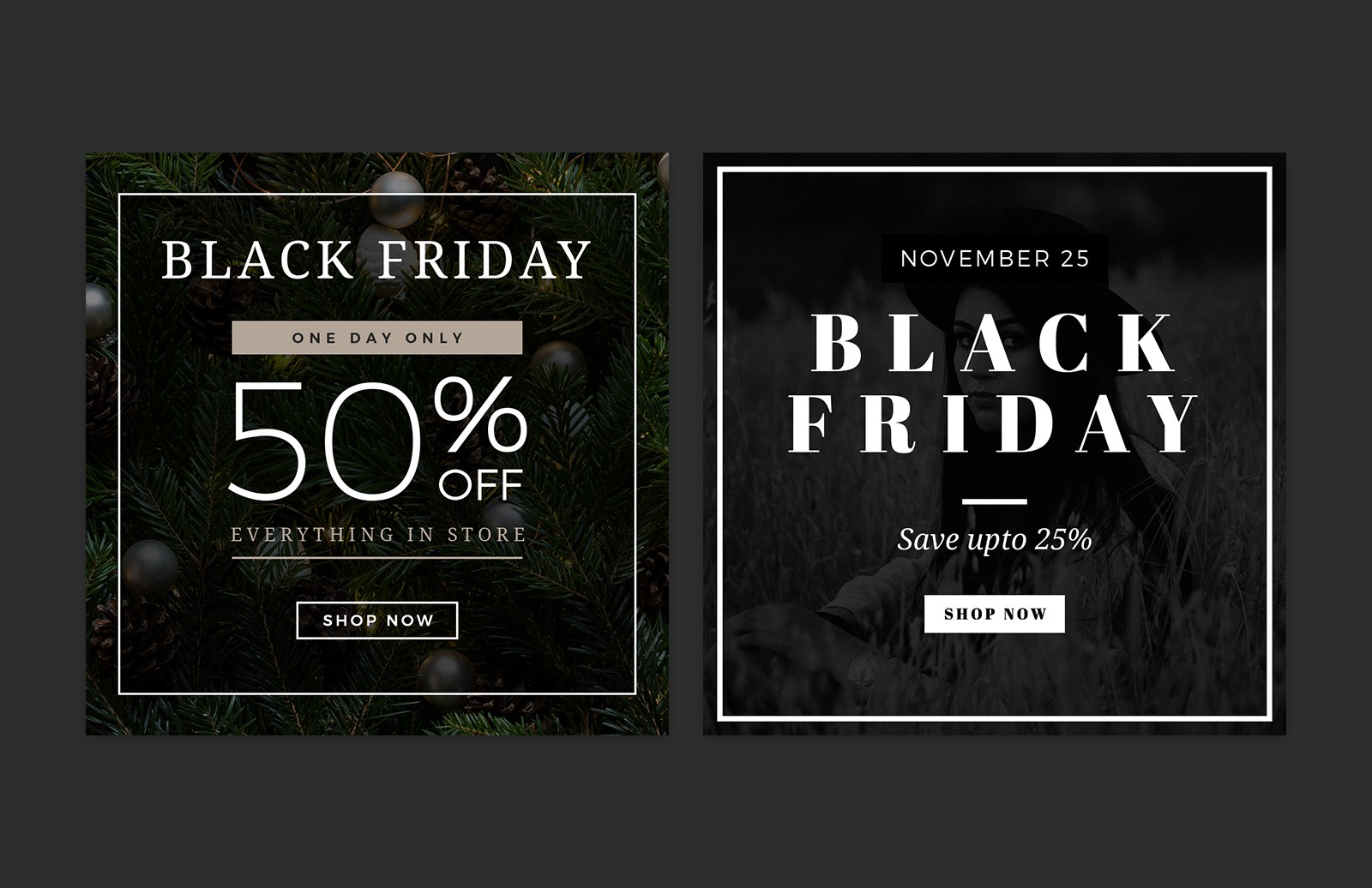 Large Black  Friday  Social  Media  Layouts  Preview 4
