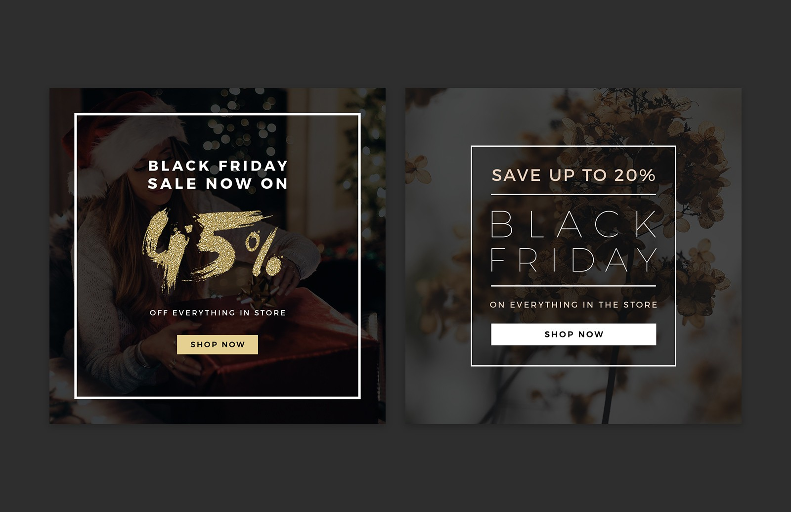 Large Black  Friday  Social  Media  Layouts  Preview 5