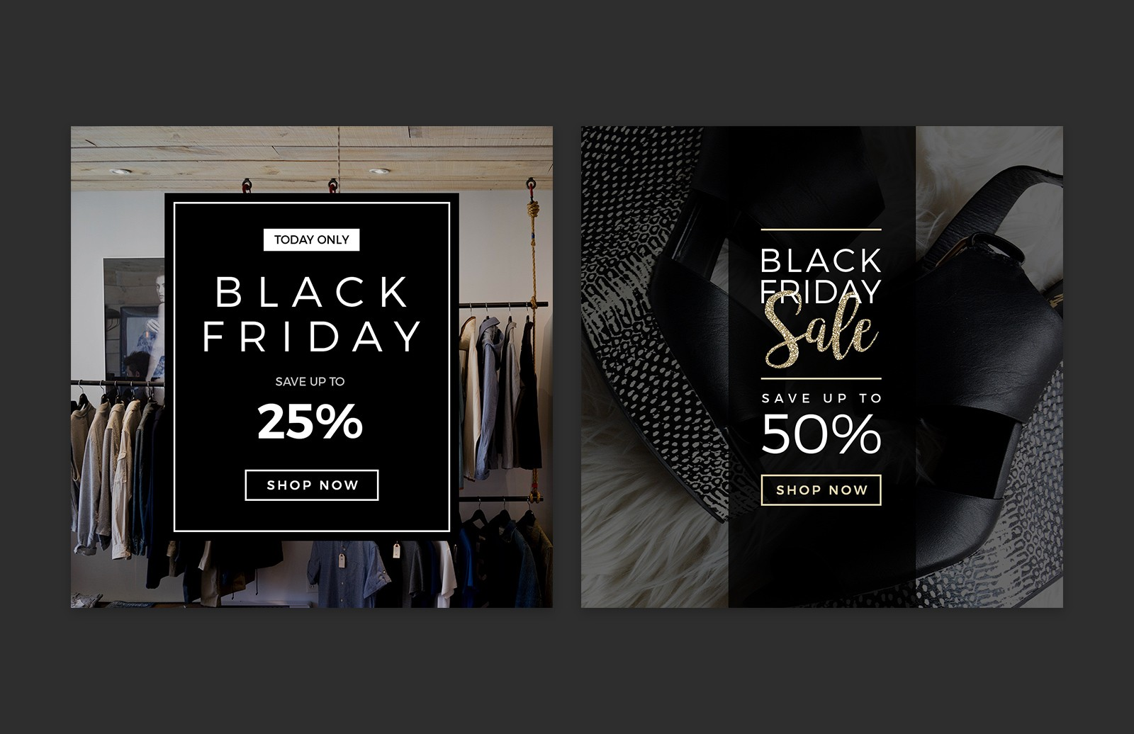 Large Black  Friday  Social  Media  Layouts  Preview 2A