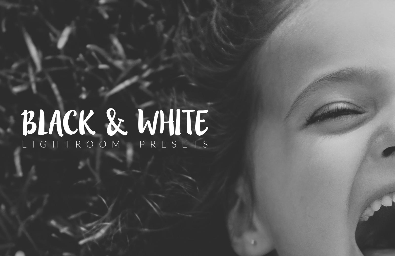 Black and White Lightroom Presets 1