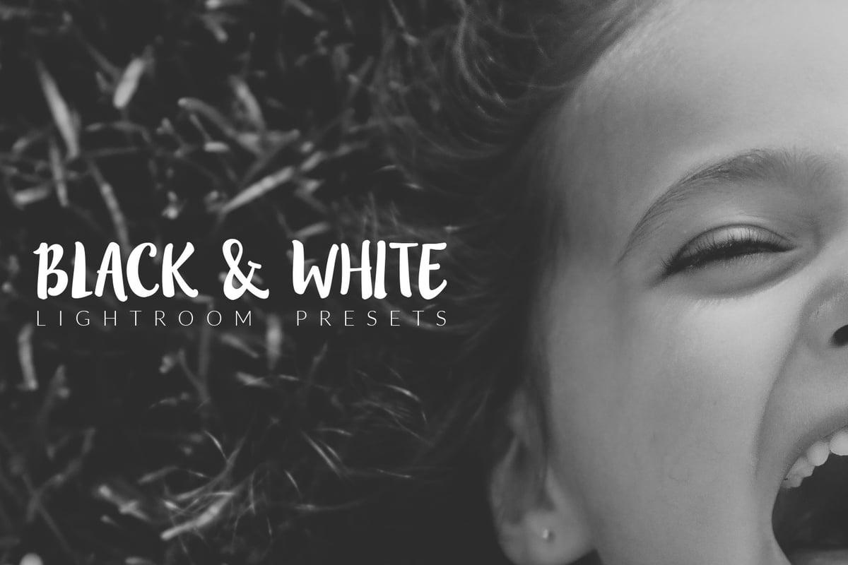 Black and White Lightroom Presets     Medialoot