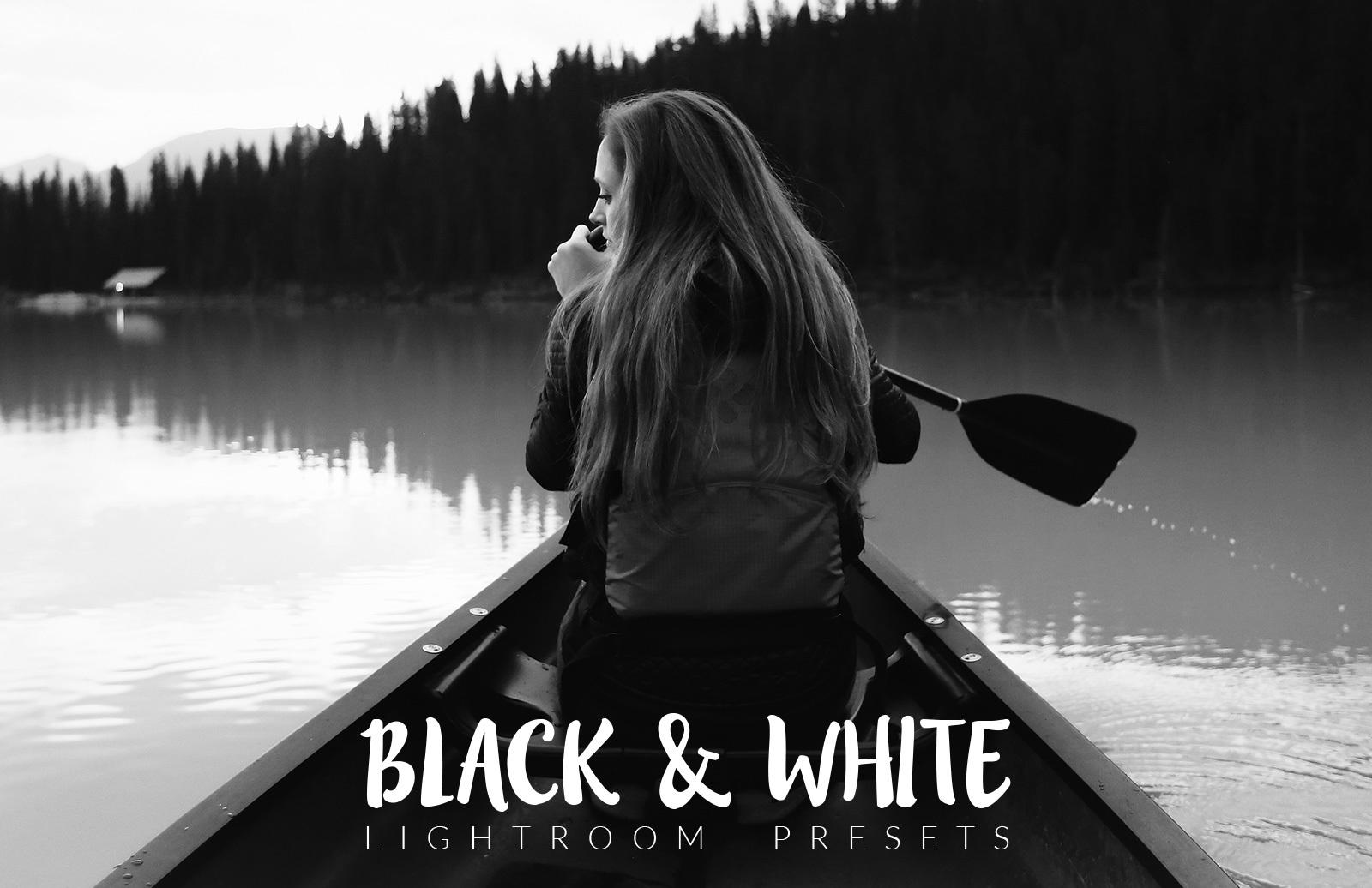 Black and White Lightroom Presets 2