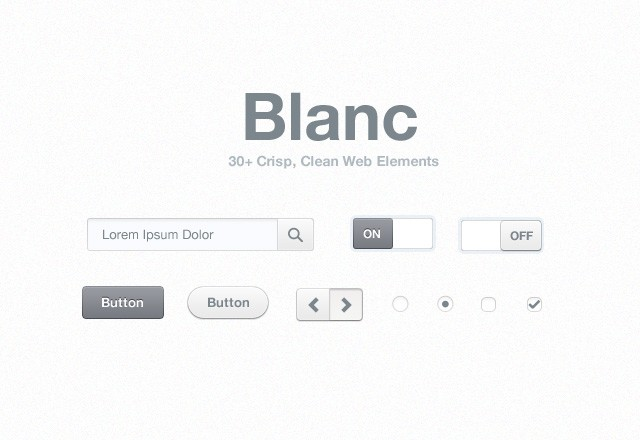 Blanc  Web  Elements  Preview1