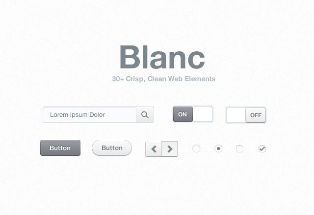 Large Blanc  Web  Elements  Preview1
