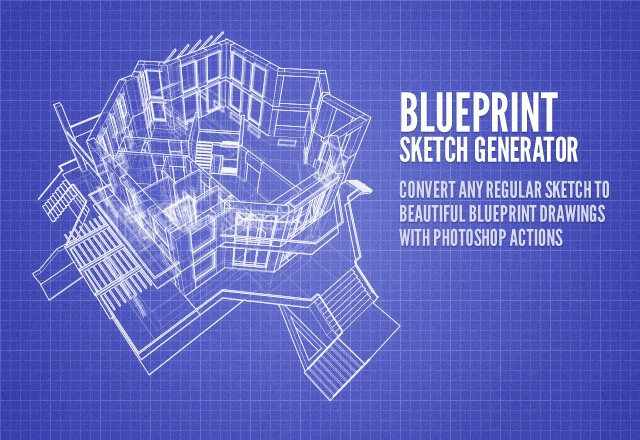 Large Blueprint  Sketch  Generator  Preview1