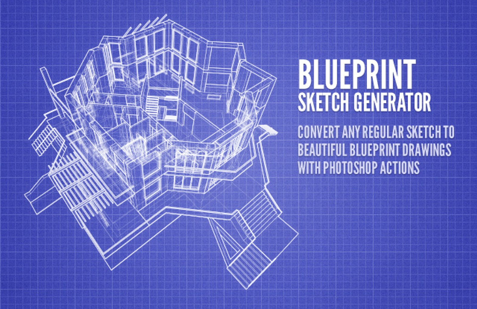 Sketch to blueprint generator medialoot blueprint sketch generator preview1 malvernweather Choice Image