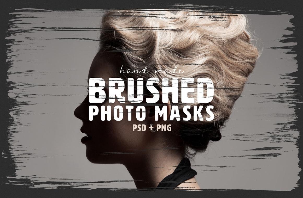 Brushed Photo Masks