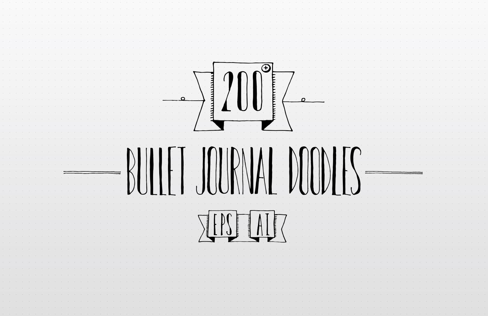 Bullet Journal Doodles Preview 1
