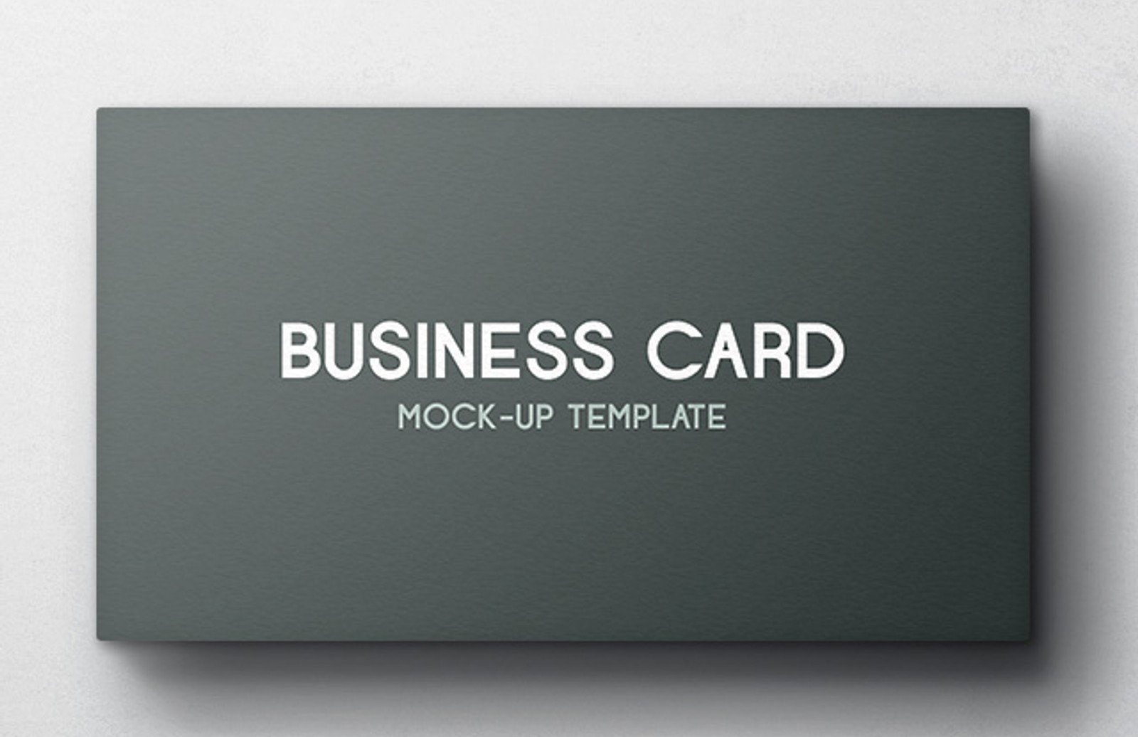 Business Card Mockup Vol 4 Medialoot