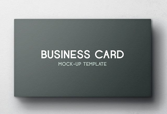 Business Card Mockup - Vol 4