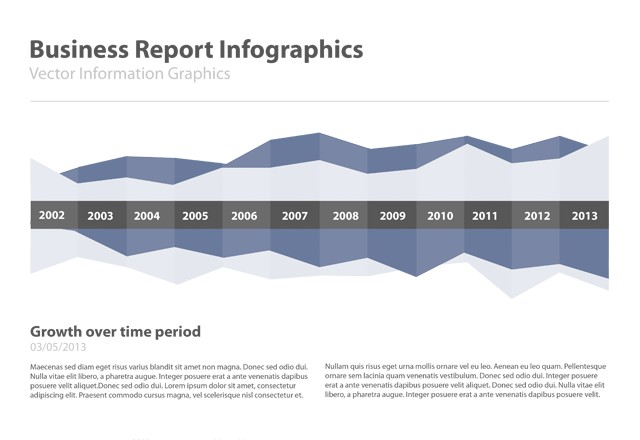 Business Report Infographics