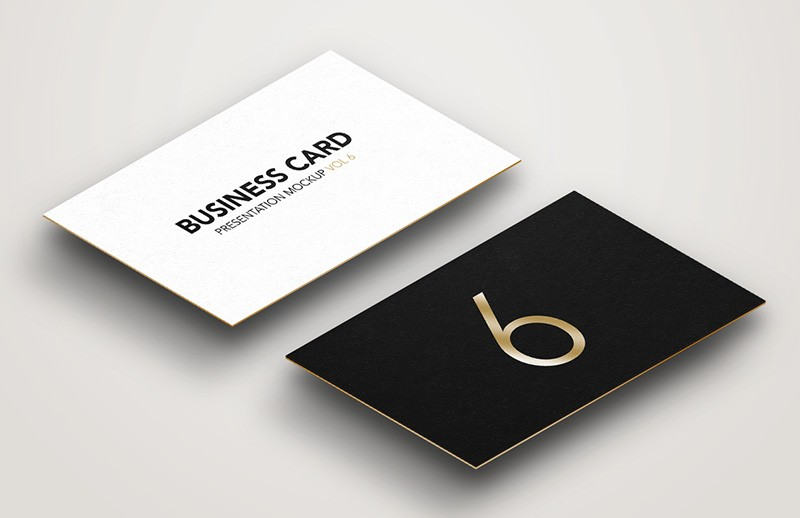 Business Card Mockup Vol 6