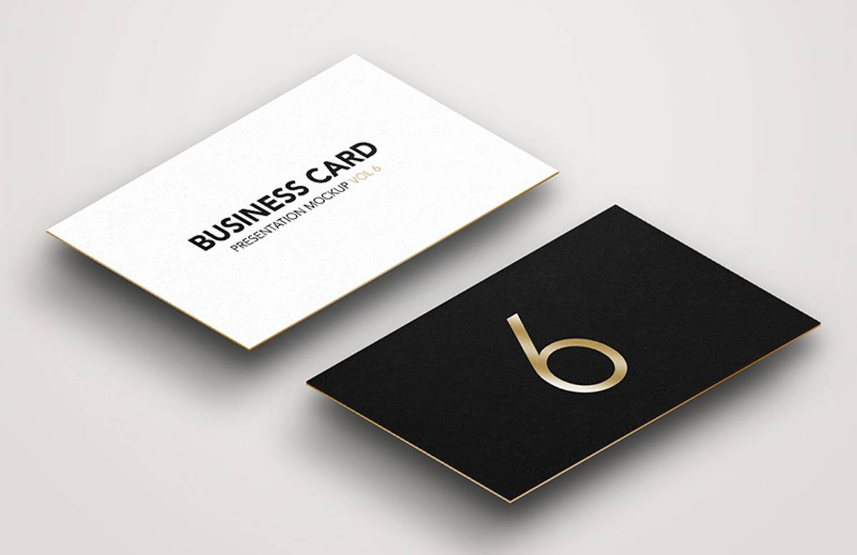 Business  Card  Mockup  Vol 6  Preview 1
