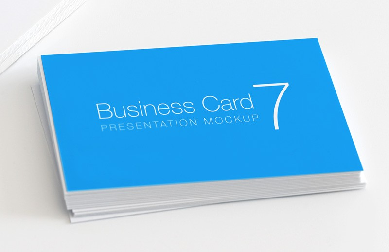 Business Card Mockup Vol 7
