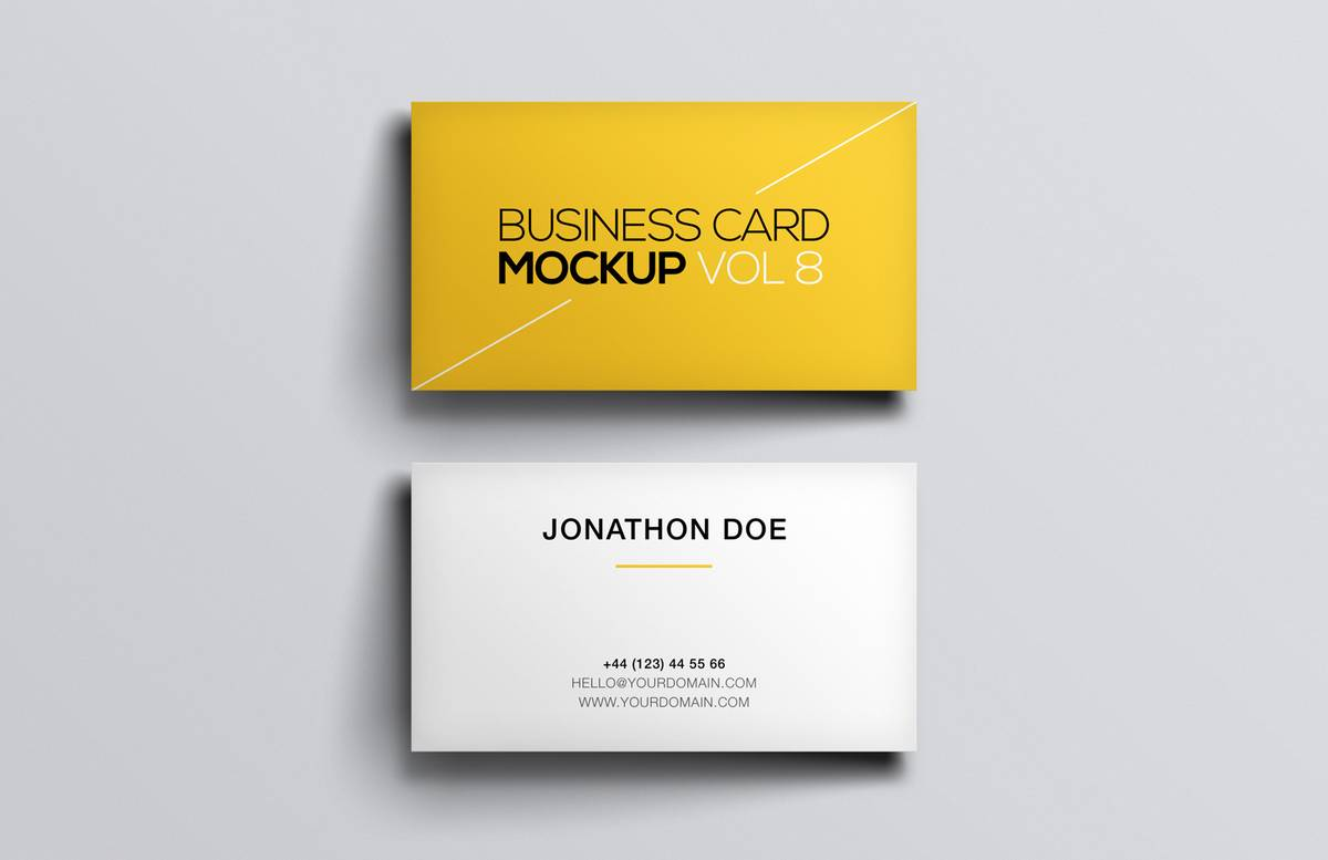 Business  Card  Mockup  Vol 8  Preview 1
