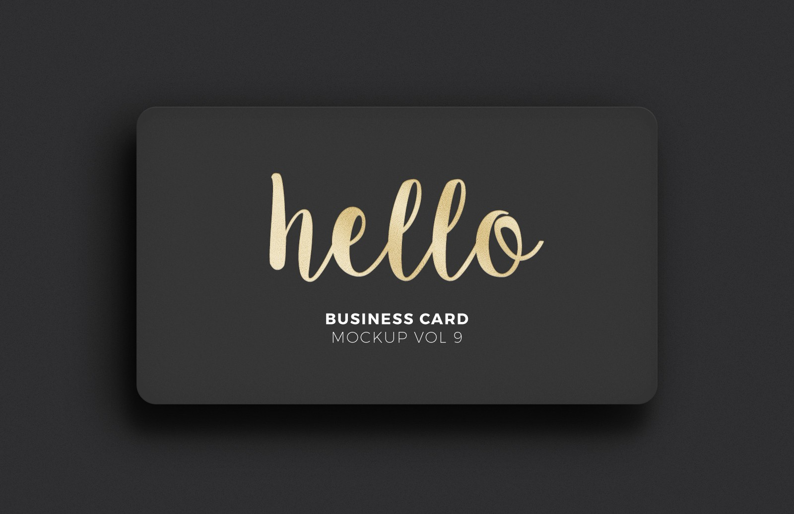 Large Business  Card  Mockup  Vol 9  Preview 1