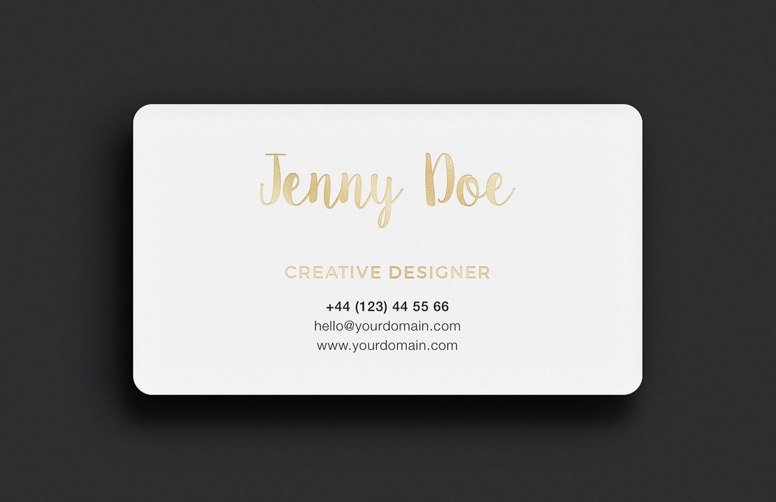 Large Business  Card  Mockup  Vol 9  Preview 2