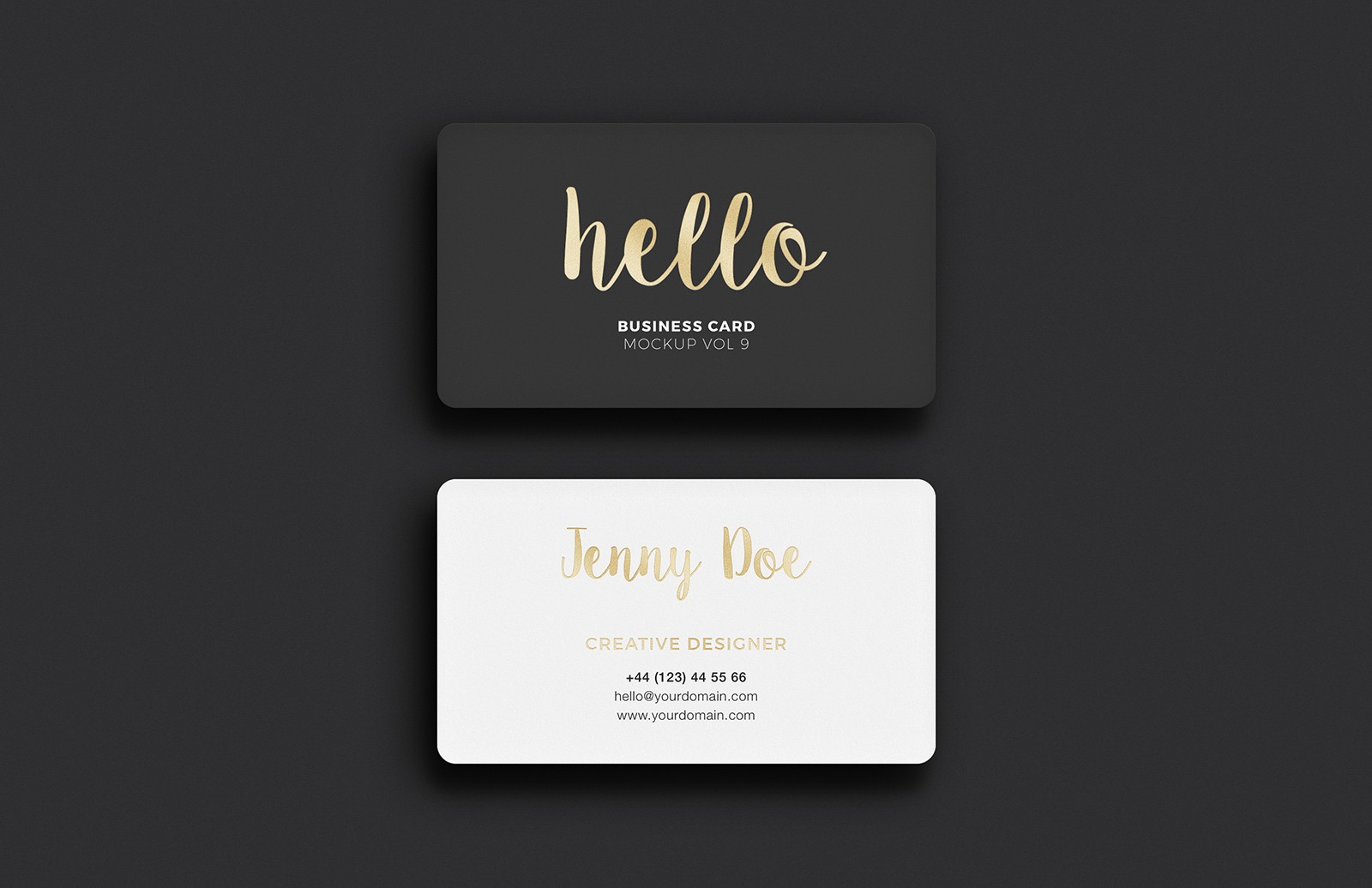 Business  Card  Mockup  Vol 9  Preview 3